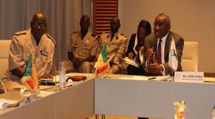 Réunion des ministres en charge de la défense dans l'espace de UEMOA