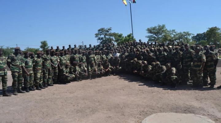 Visite du ministre des forces armées en Gambie