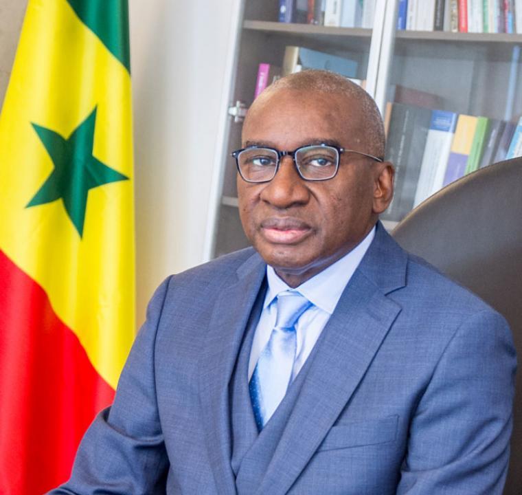 Maitre Sidiki KABA: Ministre des Forces Armées