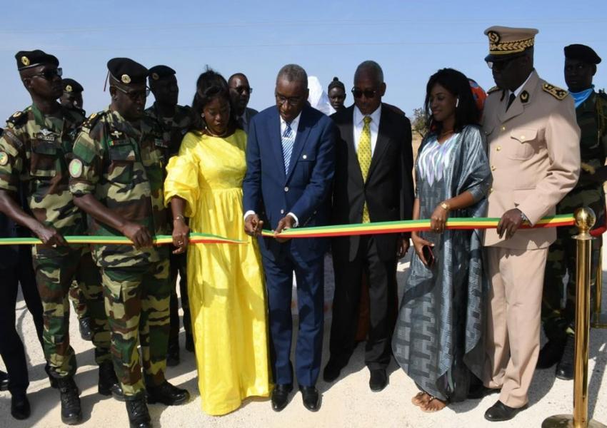 inauguration du centre nationale d'entrainement de Mont-Rolland