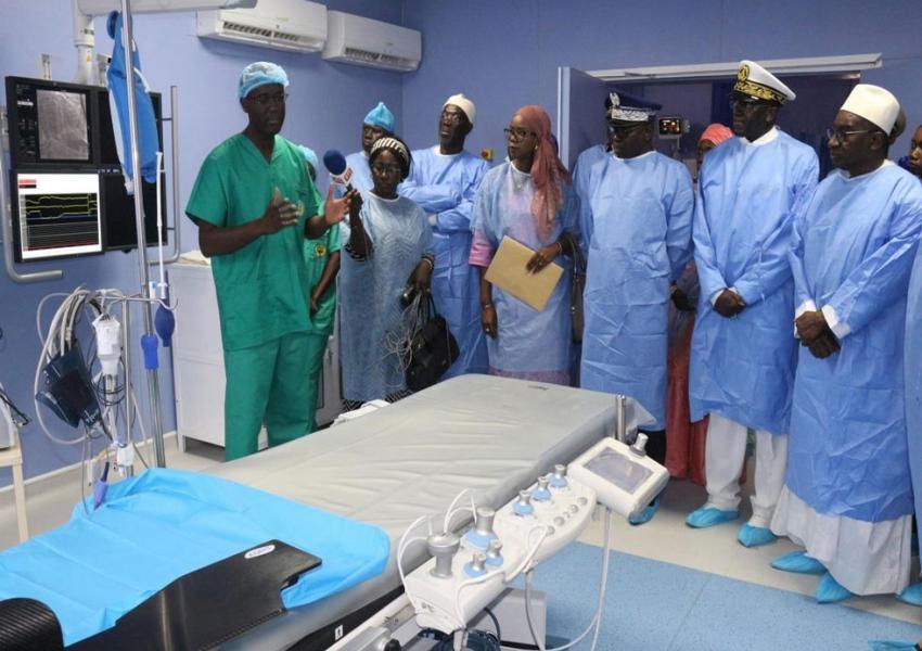 Inauguration d'infrastructures et équipements à l'Hôpital principal de Dakar