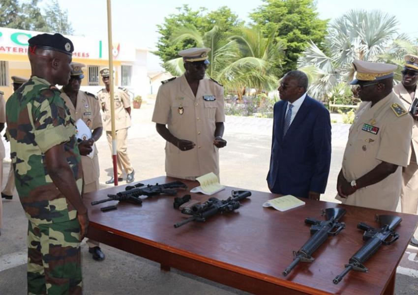 Visite à la direction du matériels des armées