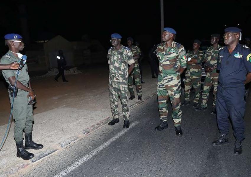 Ministère des Forces Armées  :Lutte contre le covid 19
