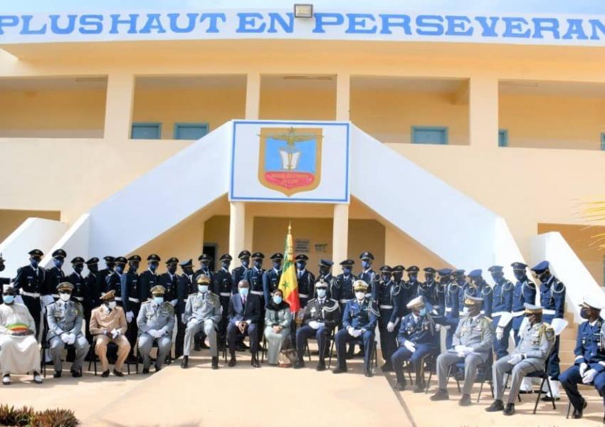 Cérémonie de sortie de la 9ème promotion du Brevet élémentaire de l'Ecole de l'armée de l'Air