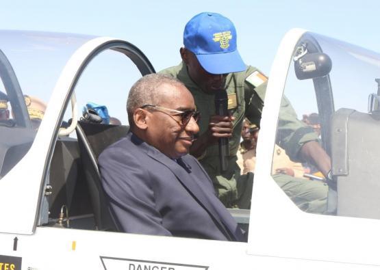 Ministre des forces armées  a réceptionné deux epsilons TBR 30