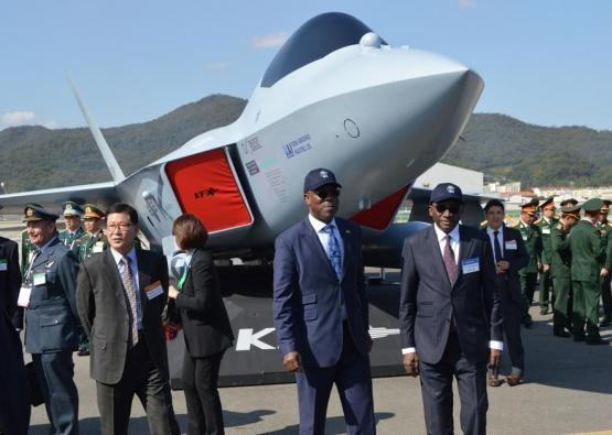Salon international de l'aéronautique en Corée du SUD