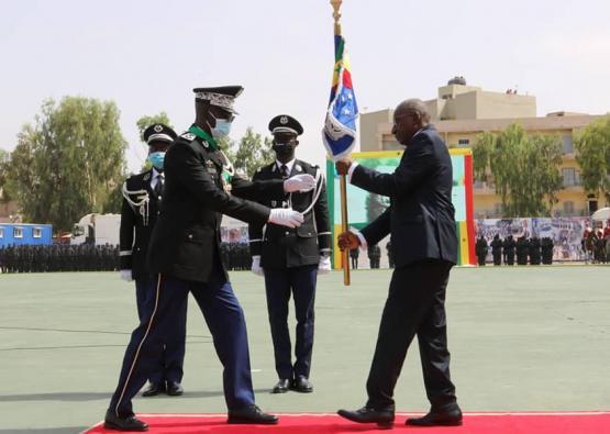 Installation du nouveau Commandant de la Gendarmerie le général Moussa FALL